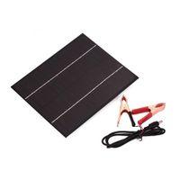 6 Watt DC 18 V Solarpanel Versorgung Ladegerät Monokristalline Silizium Wasserdichte Storge Energie Ladebordzellen Für 12 V Batterie