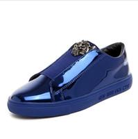 4814273f2 Sapatos masculinos e femininos de couro coreano outono e inverno versão  coreana dos sapatos masculinos de sola grossa sapatos casuais