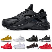 best sneakers e45ff 8aa05 nike air huarache shoes 2018 Huarache 1.0 4.0 Zapatillas de running Hombres  mujeres Triple Blanco Negro