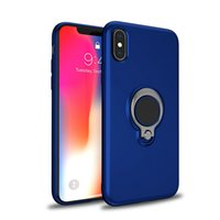 Soft TPU Cases With Ring Holder For IPhone XR XS MAX 8Plus 7...