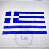 Griechenland / griechische Fahne Nationalflagge Freies Verschiffen 3x5 FT / 90 * 150cm Hängen Nationalflagge Griechenland / Griechisch-Hauptdekoration Flagge Fahne