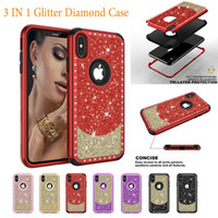 Glitter Diamond Case For iPhone X Xr Xs Max 8 7 6 6s Plus 5 ...