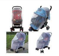 Bebek Arabası sivrisinek yatağı net Puset Sivrisinek Böcek Shield Net Koruma Mesh Buggy Kapak Arabası Aksesuarları Cibinlik to674