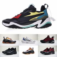 2018 PUMA Thunder Spectra El más nuevo Pum Thunder Spectra Doing Old Genuine Leather Casual Old Dad Shoes Thunder Spectra Transpirable enuine Leather Running Sneakers