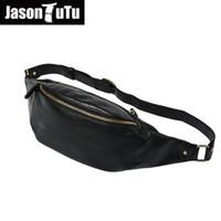 2017 bolsa de pequeno ombro sacos de boa qualidade PU bolsa de cintura de couro homens messenger bags JASON TUTU saco Hobos B301
