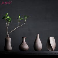 JIA-GUI LUO Vasos de cerâmica Home Desk Accessories Flores secas e vasos decorativos florais Creative display Olaria
