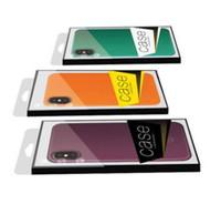 Universal-PVC-Kleinpaket-Verpackenkasten-Plastikkästen für iphone X 9 8 7 6 plus 5,8 6,1 6,5 Zoll-Telefonkasten KEIN Einsatz