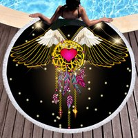 Fly wing love Dream Catcher 3d Printed Microfiber Bath Towel...