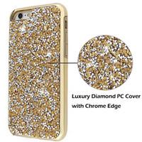 Premium bling 2 en 1 diamant strass étui de téléphone pour iPhone X 8 7 6 6s plus Samsung S8 note 8