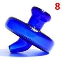 Color UFO Cuarzo Banger Bubble Carb Cap Cap Cúpula estilo para Quartz Thermal P Banger Nails Dabber Glass Bongs Dab Plataformas petroleras
