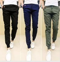 New Mens Skinny Joggers Chinos Slim Pants Men Trousers Hip H...