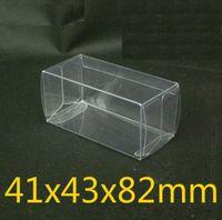 100шт 8.2X4.3X4.1 см ПВХ ясно спичечный коробок TOMY игрушка модель автомобиля 1/64 1: 64 TOMICA горячие колеса пыли доказательство дисплей коробка защиты