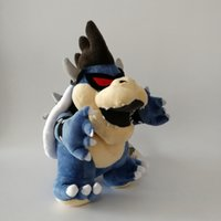 Hot ! Dark Bowser Super Mario Plush Doll Stuffed Animals Toy...