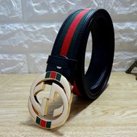 2018 designer classic fashion casual 100 li leather belt wit...