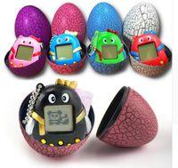 Dinozor Yumurta Tamagotchi Sanal Dijital Elektronik Pet Oyun Makinesi Tamagochi Oyuncak Oyunu El Mini Komik Sanal Pet Oyuncaklar ücretsiz DHL