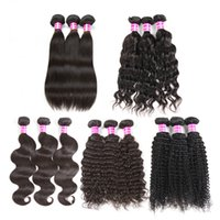 Brazilian Virgin Hair Bundles with Closure and Lace Frontal ...