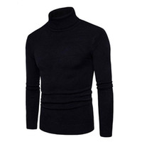 New 2017 Winter Mens Sweaters And Pullovers Men Turtle Neck ...