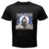 2018 Summer Style T Shirt THE WHO Quadrophenia Rock Band Leg...