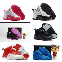new 12s Kids basketball Shoes Children J12s Basketball Sneak...