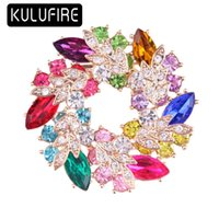 KULUFIRE Cute Jewelry Brooch pins large Round brooches for w...