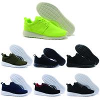 Atacado nike roshe New Hot sale Run Sapatos Moda Vermelha Das Mulheres Dos Homens de Esportes de Corrida Londres Olímpico Runs Sapatos de Caminhada Tênis Esportivos Sneakers 36-45