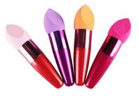 Fundación de maquillaje Esponja Puff Blender Blending Polvo sin defectos Smooth Cosmetic Smooth Puff brush Aplicadores de herramientas de belleza de algodón de DHL