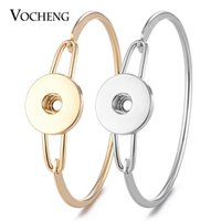 10PCS Lot Vocheng Snap Jewelry Charms Bangle for Women Coppe...
