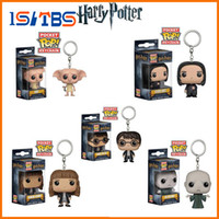 2018 Hot Sale Harry potter filme e televisão funko pop harry potter hermione chaveiro voldemort.