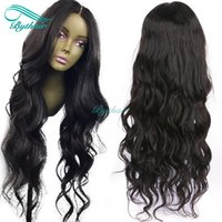 Bythair 13x6 Deep Part Lace Front Human Hair Wig Natural Wav...