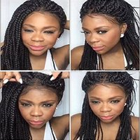 ZhiFan lace frontals baby hair dreadlock braids 26inch lace ...