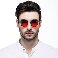 Fashion sunglasses Europe and the United States round person...