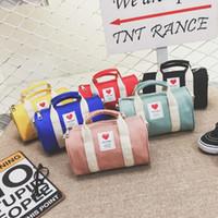 Niños Niñas Bolsos monederos Cross-Body Bags encantador de la manera de Corea para niños Bolsa de hombro niños de gran capacidad Duffle del recorrido bolsas de dulces
