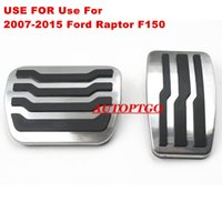 Use For 2007- 2015 Ford Raptor F150 Foot Pedal Pad Cover Fits...