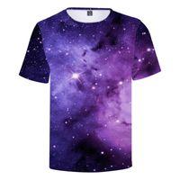 3D футболки Starry Sky Game рубашка Трехмерная цифровая печать с коротким рукавом футболка лето 3 стилей