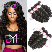 Brazilian virgin hair Loose wave human hair unprocessed hair...