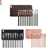 brand 12pcs set Eyeshadow Makeup Brushes with bag 3colors Ma...