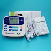 TENS / EMS 기계 Accupuncture 펜 및 4 PC를 가진 디지털 방식으로 안마 전극 패드, 전신을위한 전극 치료