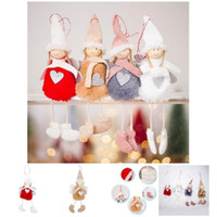 Wholesale 1 PCS Cute Christmas Angel Plush Doll Christmas Tr...