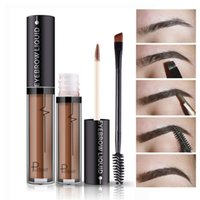 Eye Brow Gel Long Lasting Paint Eyebrow Cream With Brush Wat...