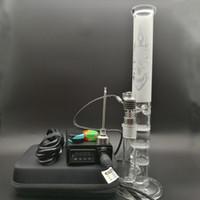 E Kit unghie digitale con tamponi dab 6 in 1 batteria elettrica riscaldante per unghie di alta qualità per bicchiere alto Percolatore in vetro Bong