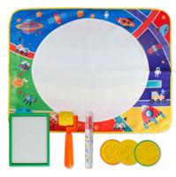 69 * 56cm Disegno Giocattoli Acqua Disegno Mat bordo Pittura e scrittura Doodle con penna magica Non tossico Tavolo da disegno per bambini YH1383