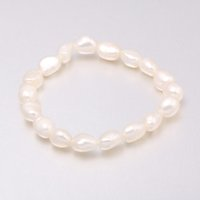 2018 High Quality 8- 9 mm Freshwater Pearl Bracelets Natural ...