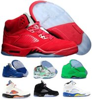 Cheap Basketball Shoes Sneakers 5 5s V Men Women Red Blue Su...