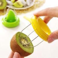Mini Kiwi Pitaya Descascador Cortador De Mão Fácil Cortar Fruta Criativa Cortadores de Peeling Ferramentas de Cozinha Gadgets