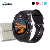 V8 wireless bluetooth Smart Watch support Sim TF Card Slot B...