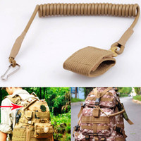 Pistola tattica a sgancio rapido regolabile Pistola a molla elastica Cordino per cintura da lavoro Molle Combat Pistola a punto singolo