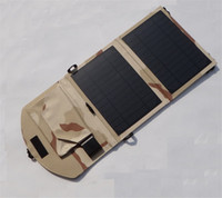 10W Solar Charger Foldable Bag Universal Solar Panel Power C...