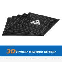 5шт 3D часть принтера 310 * 310 * 0.5mm с подогревом кровать клея Очаг наклейка Листа лента пленка с проволокой Рамки для DIY резки