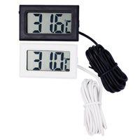 Professinal Mini Digital LCD Sonde Aquarium Kühlschrank Gefrierschrank Thermometer Thermograph Temperatur Meter für Kühlschrank-50 ~ 110 Grad FY-10