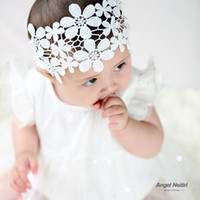 Baby hair accessories lace new baby headband girls hair band...